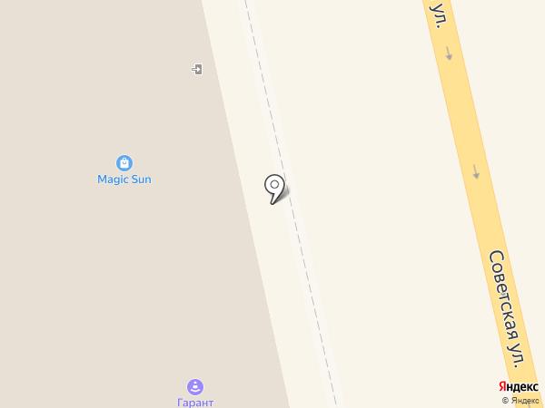 Мастерская по изготовлению ключей на карте Тамбова