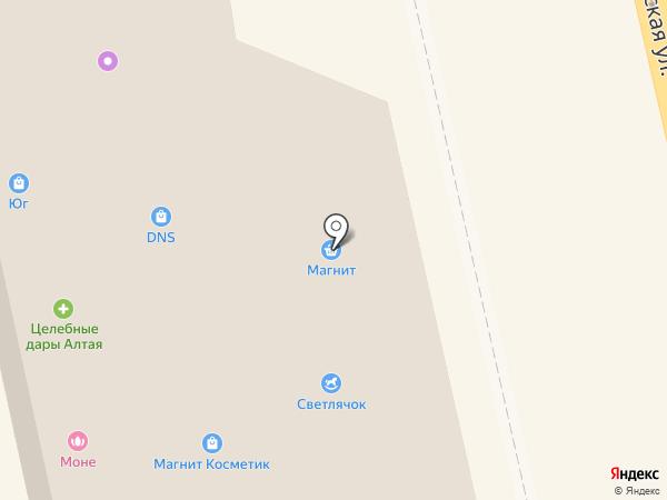 Очарование на карте Тамбова
