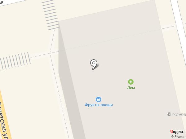 Фруктово-овощная лавка на карте Тамбова