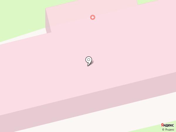 Тамбовский гарнизонный военный госпиталь на карте Тамбова