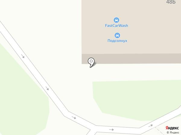 Роснефть на карте Тамбова