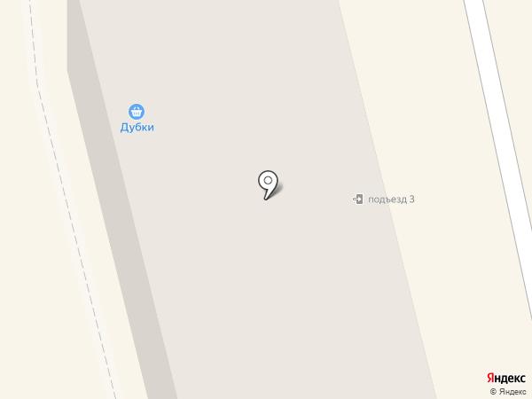 Дубки на карте Тамбова