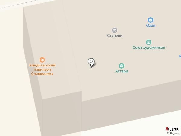 Ступени на карте Тамбова
