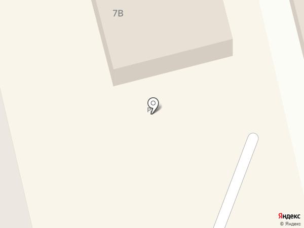 Стекло-декор на карте Тамбова