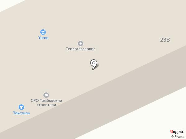 Кайман на карте Тамбова