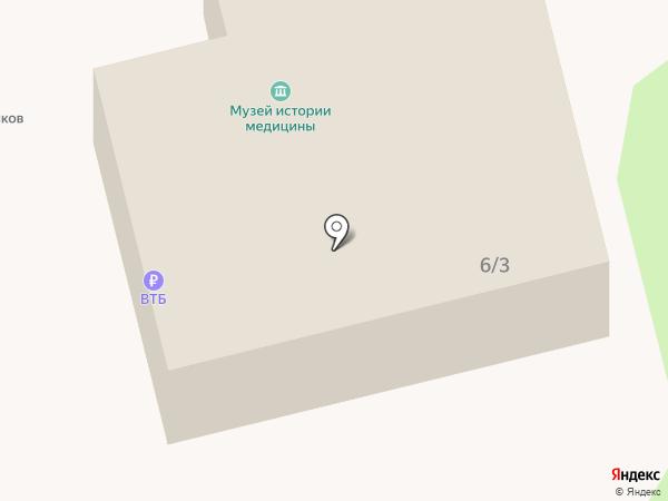 Музей истории медицины Тамбовской области на карте Тамбова