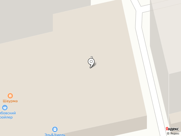 Парикмахерская-салон на карте Тамбова