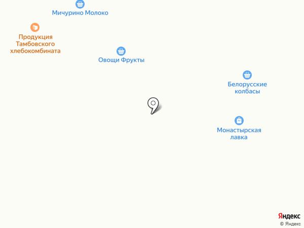 Евгения на карте Тамбова