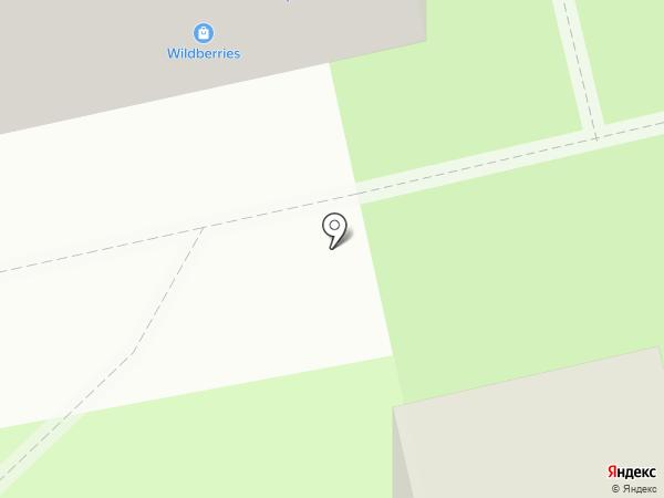 Стрекоза на карте Тамбова
