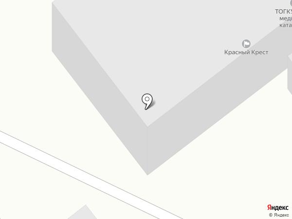 Центр медицины катастроф на карте Тамбова
