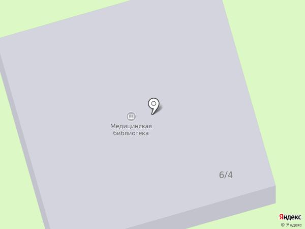 Научная медицинская библиотека на карте Тамбова