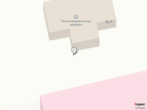 Храм в честь великомученика Пантелеимона на карте Тамбова