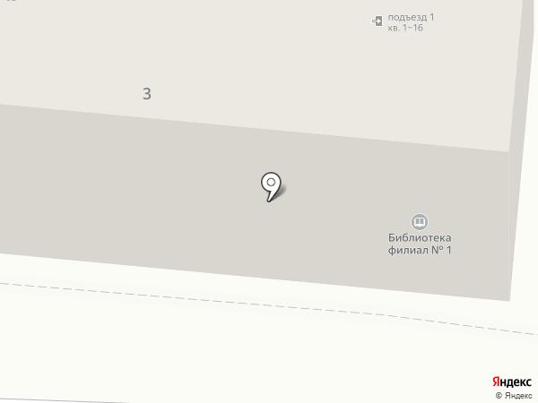 Библиотека №1 им. К.В. Плехановой на карте Тамбова