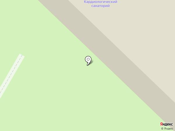Тамбовский кардиологический санаторий на карте Тамбова