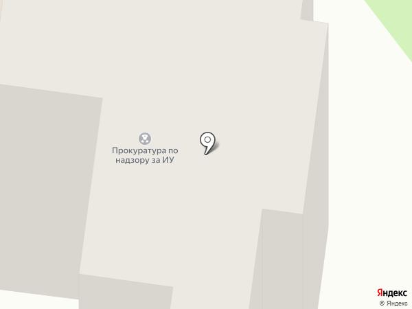 Тамбовская прокуратура по надзору за исправительными учреждениями на карте Тамбова