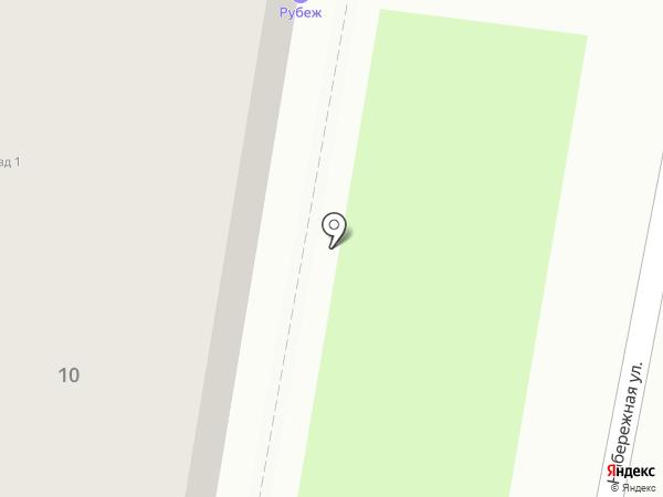 Рубеж на карте Тамбова