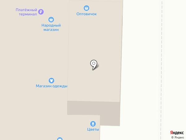 Эталон на карте Котовска