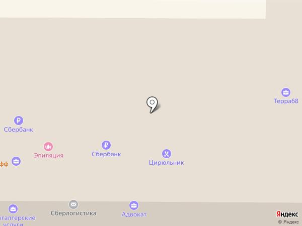 Сбербанк, ПАО на карте Котовска