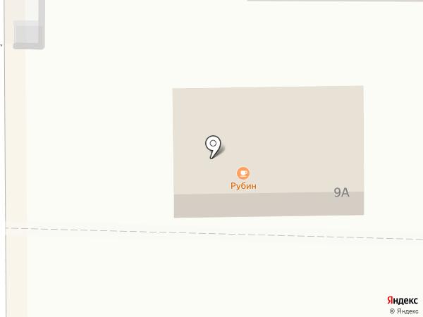 Рубин на карте Котовска