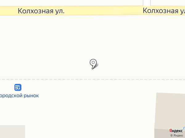 Киоск по продаже фастфудной продукции на карте Котовска