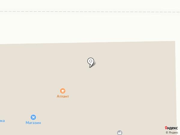Атлант на карте Котовска