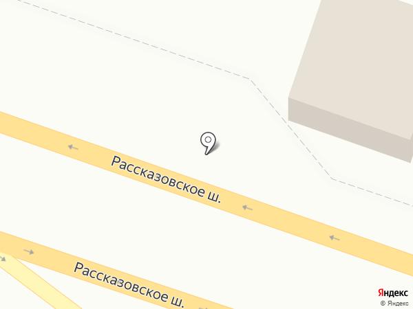 ЮНАЙТ на карте Тамбова