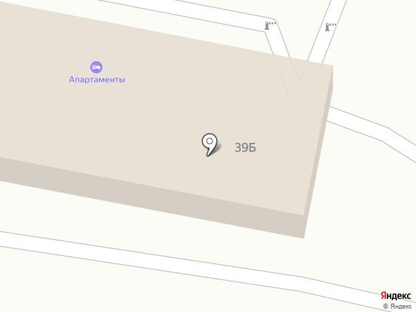 Апартаменты на карте Тамбова
