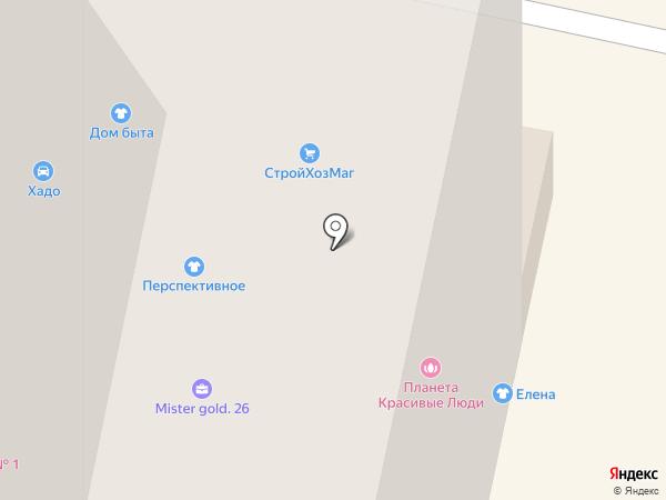Керченский на карте Ставрополя