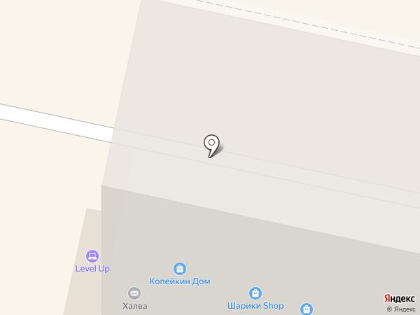 Я люблю Giro`s на карте Ставрополя