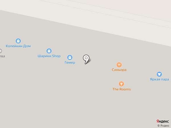 Стройкин дом на карте Ставрополя