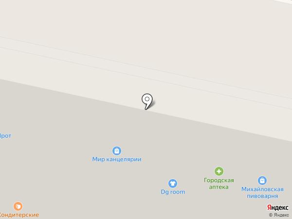 Первая михайловская пивоварня на карте Ставрополя
