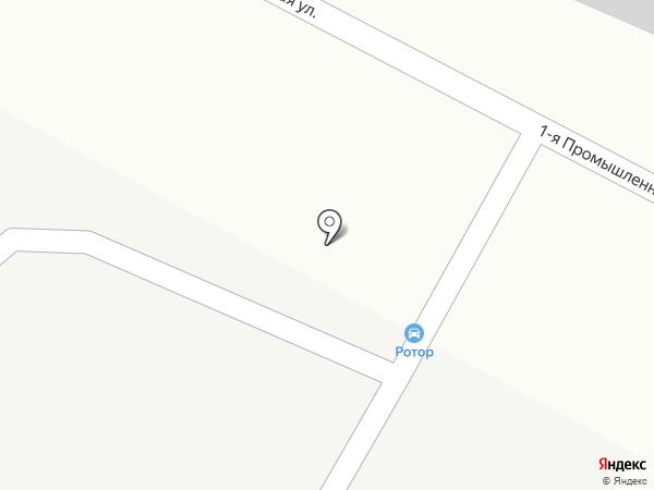 Шиномонтажная мастерская на карте Ставрополя