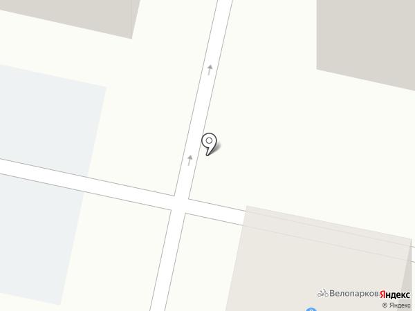 Веломастерская на карте Ставрополя