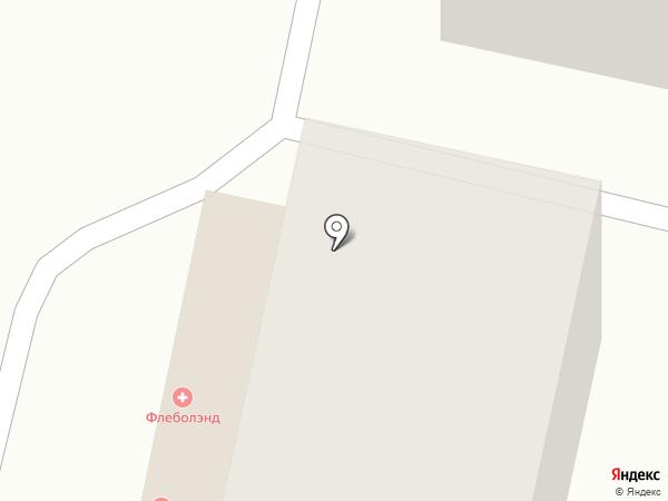 Флеболэнд на карте Ставрополя