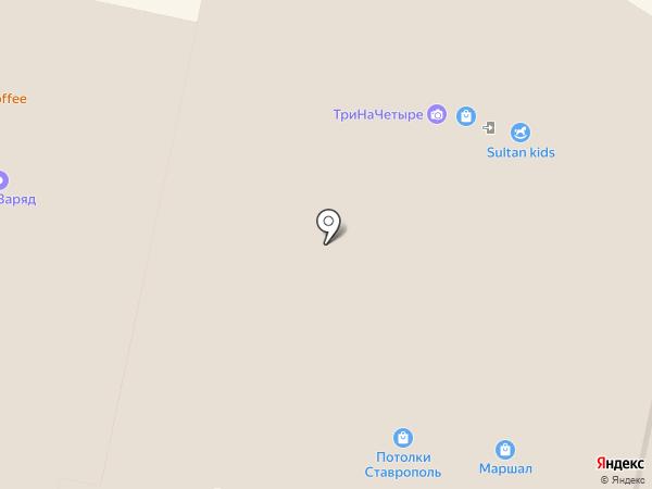 Физрук на карте Ставрополя