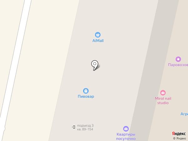Ювелирная мастерская на ул. Тухачевского на карте Ставрополя