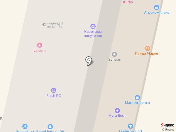 Мадам Шторкина на карте Ставрополя