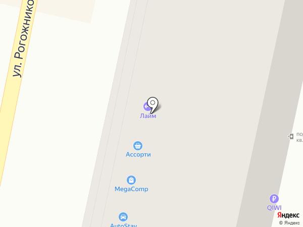 Семидаль на карте Ставрополя