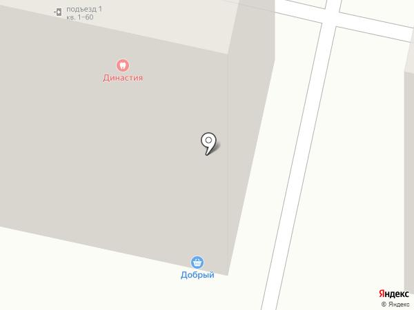 Фруктоша на карте Ставрополя