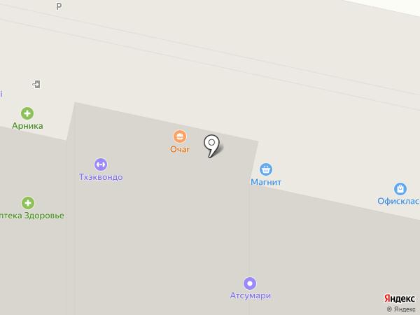 ЭКСЕЛЕНТ на карте Ставрополя