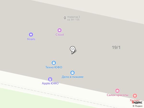 Контора Красоты на карте Ставрополя