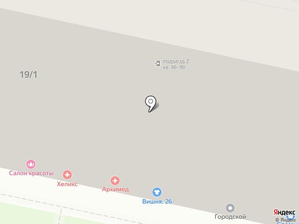 Divizion на карте Ставрополя
