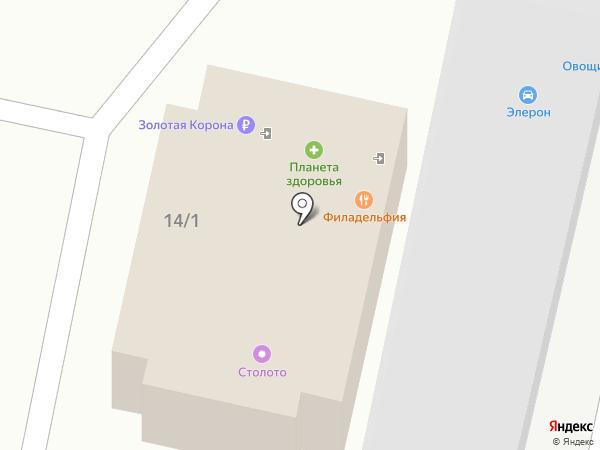 Гараж на карте Ставрополя