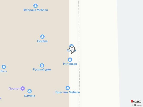 Мебель-Москва на карте Ставрополя