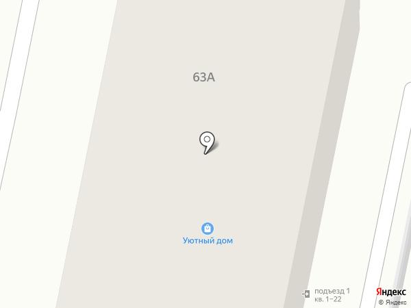 Теплый камень на карте Ставрополя