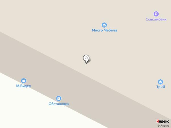 Райтон на карте Ставрополя