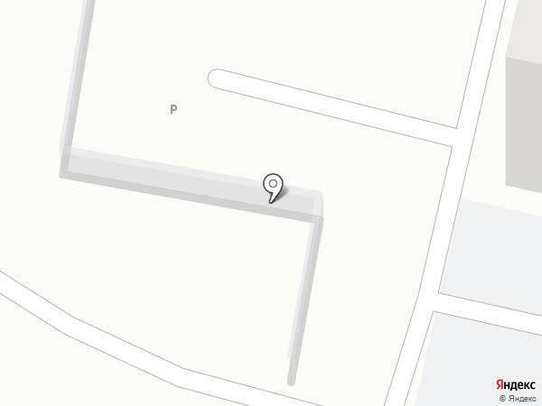 Автостоянка на ул. 45 Параллель на карте Ставрополя
