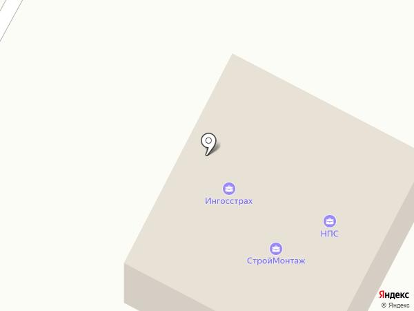 Ингосстрах, СПАО на карте Ставрополя