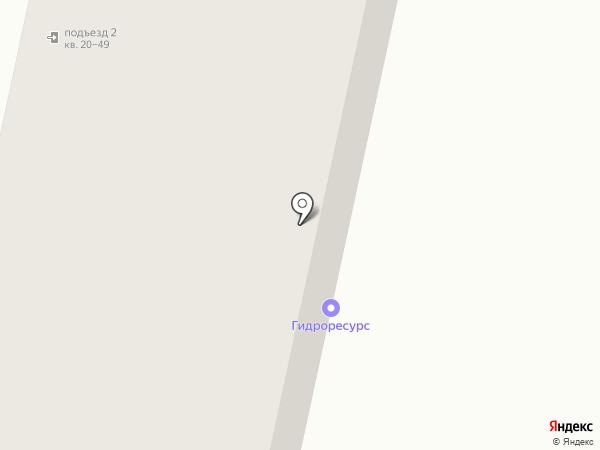 Светоч на карте Ставрополя