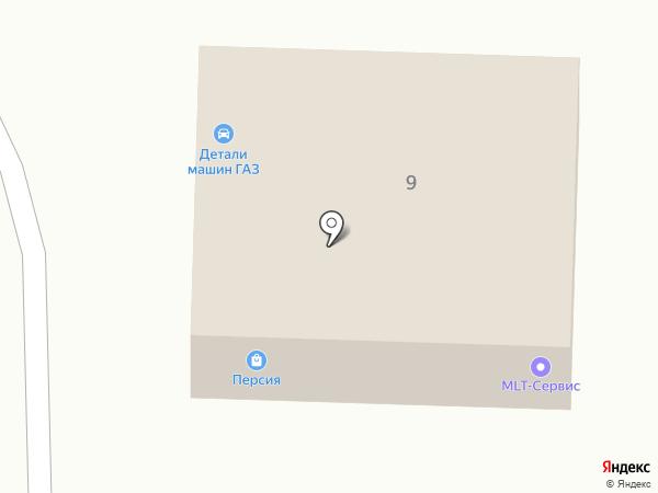 Мой!!! Авто на карте Ставрополя